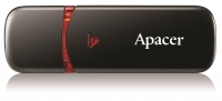 16Gb Apacer AH333 AP16GAH333B-1, USB2.0, белый