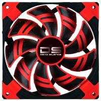 Fan 120х120мм AeroCool DS, Red