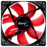 Fan 120х120мм AeroCool Lightning, Red LED