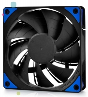Fan 120х120мм Deepcool TF120BK, LED синий