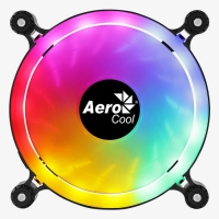 Fan 120х120мм AeroCool Spectro 12, FRGB, Molex+3pin