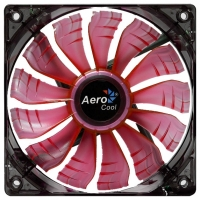 Fan 140х140мм AeroCool AIR FORCE, red