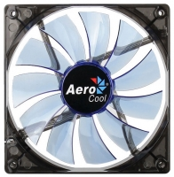 Fan 140х140мм AeroCool Lightning, Blue LED