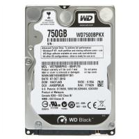 HDD 2,5 SATAIII 750GB WD, Black, 7200rpm, 16Mb (WD7500BPKX)