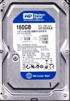 HDD IDE 160GB Western Digital, 7200rpm, 8Mb cache