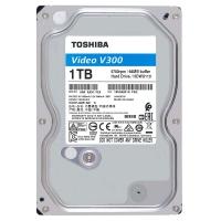 HDD SATA3 1000GB  Toshiba / для видеонаблюдения (HDWU110UZSVA)