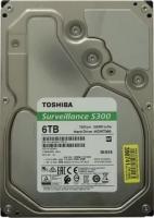 HDD SATA3 6000GB  Toshiba / для видеонаблюдения (HDWT360UZSVA)