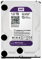 HDD SATA 1000GB WD Purple  WD10PURZ SATA-III,  64Mb