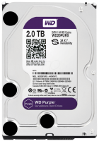 HDD SATA 2000GB WD Purple  WD20PURX SATA-III,  64Mb