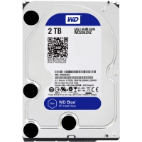 HDD SATA 2000GB WD WD20EZRZ, 64Mb, 5400rpm