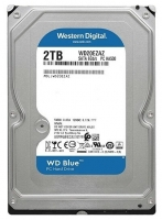 HDD SATA 2000GB WD Caviar Blue, 5900rpm, 256Mb cache (WD20EZAZ)