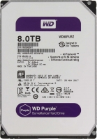 HDD SATA 8000GB WD WD80PURZ, 64Mb
