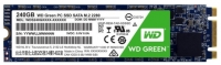 HDD SSD 240Gb WD Green (WDS240G2G0B), M.2