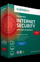 Kaspersky Internet Security 2016  3ПК/1год