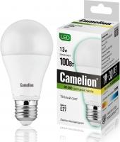 LED лампа Camelion LED13-A60/830/E27/13Вт, Теплый