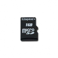 Micro SDHC Kingston 16Gb, 16GBSP, класс10