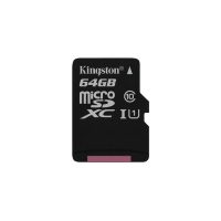 Micro SDHC Kingston 64Gb, SDC10,класс10