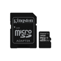 Micro SDHC Kingston 32Gb, SDCS, класс10, адаптер
