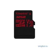 Micro SDHC Kingston 32Gb, SDCR, класс10, адаптер