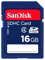 SDHC 16GB Sandisk Class 4, SDSDB-016G-B35