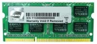 SO-Dimm DDR3L 4GB G.Skill/F3-1600C11S-4GSL, 1.35V