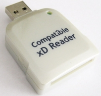 USB2.0 xD Card Reader/ Writer.