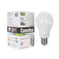 LED лампа Camelion LED11-A60/845/E27/11Вт, Холодный