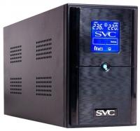 ИБП SVC V-1200-L-LCD/AVR145-290V/12В/7Ач*2шт.