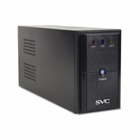 ИБП SVC V-650L /AVR165-270Black