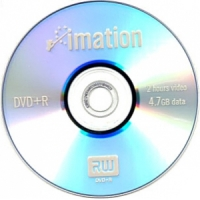 Диск DVD+R IMATION, 4.7GB