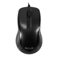Мышь Delux DLM-388OUB, Optical, 800dpi,  USB