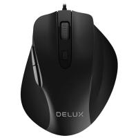 Мышь Delux DLM-517,  1000-3200dpi, USB