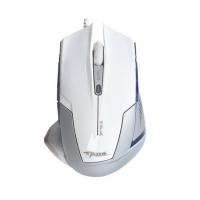 Мышь E-Blue Mazer EMS124WH, USB, белый