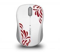 Мышь Rapoo 3100P, белая