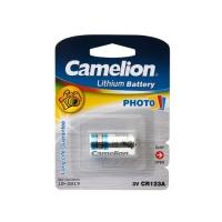 Батарея CAMELION CR123A-BP1, 3V/1300mAh