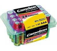 Батарея CAMELION LR03-PB24/Plus Alkaline/AAA/1.5V/1250mAh, 24шт