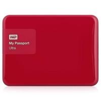 Внешний HDD 1000G WD My Passport Ultra, WDBDDE0010BBY-E, berry