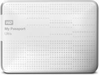 Внешний HDD 1000G WD My PassportUltra, WDBDDE0010BWT-EEUE, белый