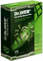 Антивирус Dr. Web Security Space PRO, на 12 мес., на 2 ПК