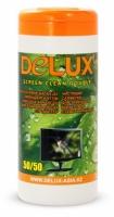 Чистящие салфетки Delux Screen Clean для мониторов, 100шт