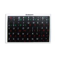 Наклейки на клавиатуру для любых клавиш, чёрные