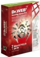 Антивирус Dr. Web Security Space PRO, SILVER 1ПК/2года/box