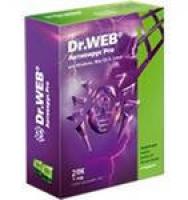 Антивирус Dr.Web PRO  2ПК/1год (продление 18мес.)