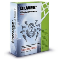 Антивирус Dr.Web «Малый бизнес», 5ПК/1сервер/box