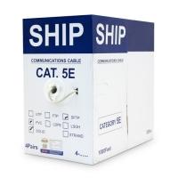 Кабель SHIP D155-P , Двойной экран, 5 ур. 0.51mm (305 метр)