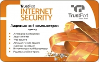 Антивирус TrustPort Internet Security 2012, на 12 мес., на 6 ПК