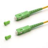 Патч корд оптоволоконный SHIP SC/APC-SC/APC SM 9/125, 0,5M
