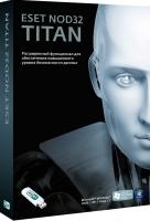 Антивирус Eset NOD32 Titan 3ПК/1год