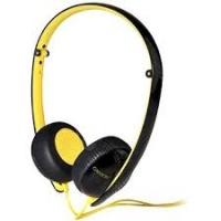 Стереонаушники CANYON CNS-CHP2BY, черный/желтый