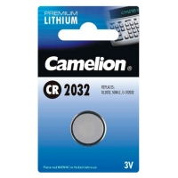 Батарейка литиевая CAMELION CR2032-BP5 220mAh